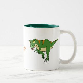 De Kop t-Rex en Stegosaurus van de Koffie van de