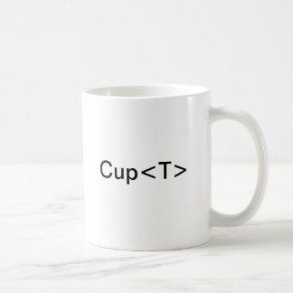 De Kop van C# van T Basic Witte Mok