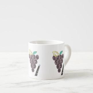 De Kop van de Espresso van de Pool van de druif