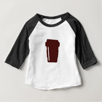 De Kop van de koffie om te gaan Baby T Shirts