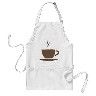 De Kop van de koffie Standaard Schort