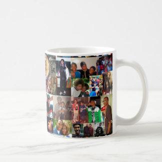 De Kop van de Koffie van de Collage van de familie