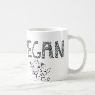 De Kop van de Koffie van de veganist