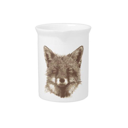 De kop van de vos/mok drink pitcher