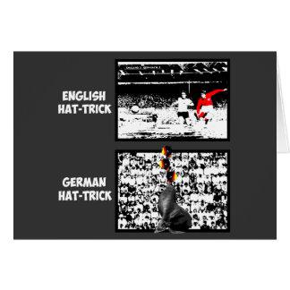 De Kop van de wereld 1966 Wenskaart