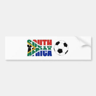 De Kop van de Wereld van Zuid-Afrika 2010 Bumpersticker
