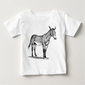 De Koppige Tekening van de muilezel, Baby T Shirts