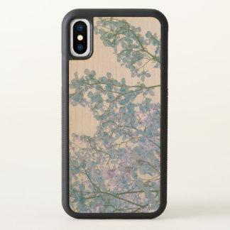 De kornoelje bloeit Paarse het Lavendel Gekleurde iPhone X Hoesje