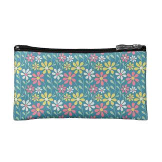 De kosmetische zak van flower power cosmetica tasje small