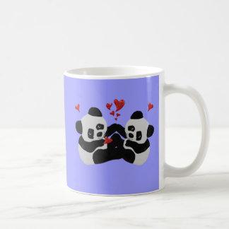 De kostbare Harten van de Panda Koffiemok
