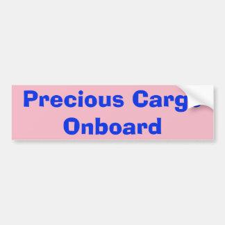 De kostbare sticker Aan boord van de Lading