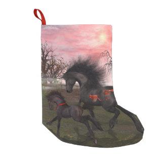 De Kous van Kerstmis van de Paarden van Kerstmis Kleine Kerstsok