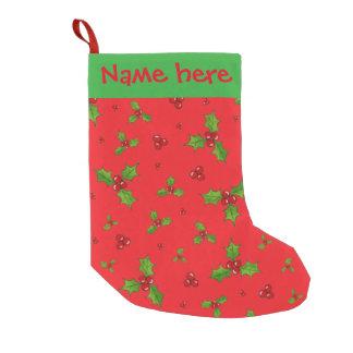 De Kous van Kerstmis van HollyBerry Kleine Kerstsok