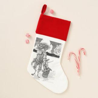 De Kous van Kerstmis van Krampus Kerstsok
