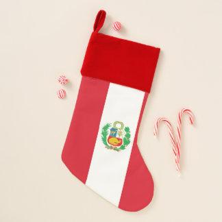 De Kousen van Kerstmis met Vlag van Peru Kerstsok
