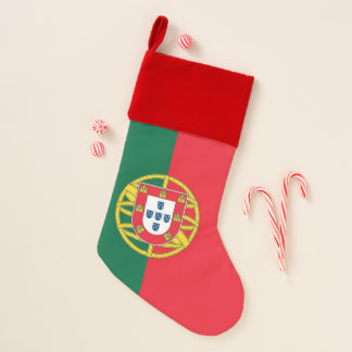 De Kousen van Kerstmis met Vlag van Portugal Kerstsok
