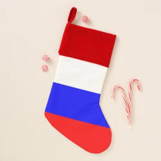 De Kousen van Kerstmis met Vlag van Rusland Kerstsok