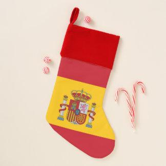 De Kousen van Kerstmis met Vlag van Spanje Kerstsok