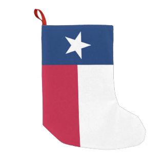 De Kousen van Kerstmis met Vlag van Texas Kleine Kerstsok