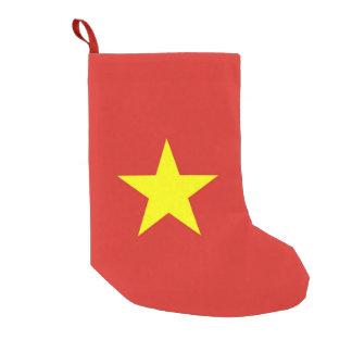 De Kousen van Kerstmis met Vlag van Vietnam Kleine Kerstsok