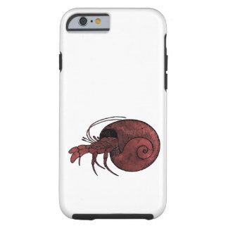De Krab van de kluizenaar Tough iPhone 6 Hoesje