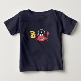 De Krab van de piraat Baby T Shirts
