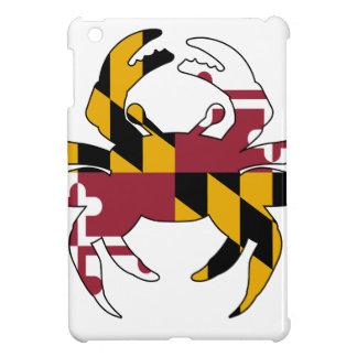 De Krab van de Vlag van Maryland iPad Mini Covers