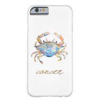 De Krab van Kanker van de waterverf Barely There iPhone 6 Hoesje