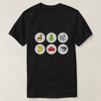 De Krab Vietnamees van de Garnaal van vissen T Shirt