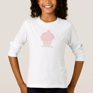 De krabbel van Cupcake T Shirt