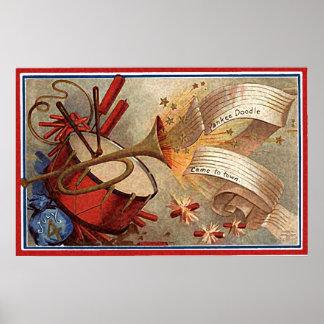 de krabbeltrommel & trompet van yankee poster