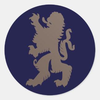 De krachtige Sticker van de Leeuw