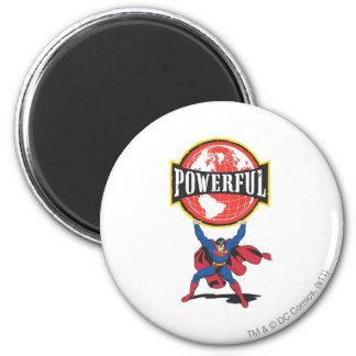 De krachtige Superman van de Wereld Koelkast Magneetjes