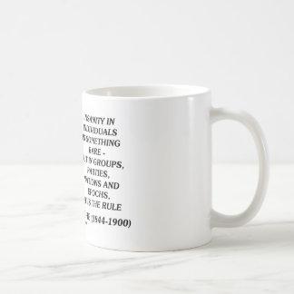 De Krankzinnigheid van Nietzsche Zeldzaam in het Koffiemok