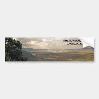 De Krater Tanzania, Afrika van Ngorongoro Bumpersticker