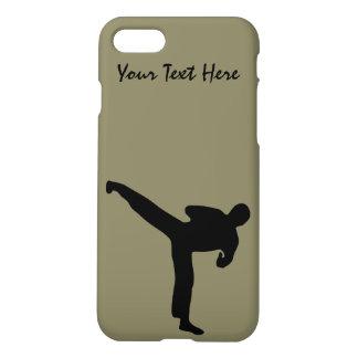 De krijgs Karate van Art., Tae Kwon, om het In iPhone 8/7 Hoesje
