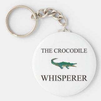 De krokodil Whisperer Sleutelhanger
