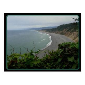 De Kromme van oceanen Briefkaart