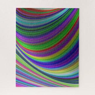 De krommen van de kleur puzzel