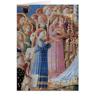 De kroning van Virgin Briefkaarten 0