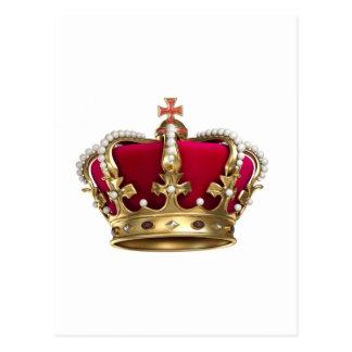 De Kroon van de royalty Briefkaart