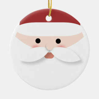 De Kroon van Kerstmis Rond Keramisch Ornament