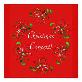 De Kroon van Kerstmis 13,3x13,3 Vierkante Uitnodiging Kaart