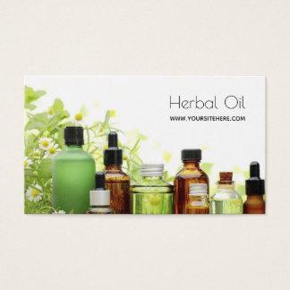 De kruiden de e-Winkel van de Olie Homeopathische Visitekaartjes