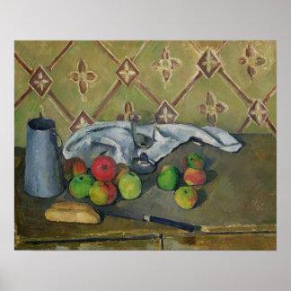 De Kruik van het fruit, van het Servet en van de M Poster