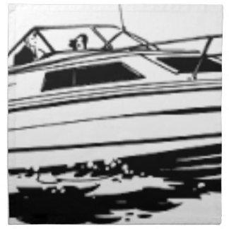 De Kruiser van de Boot van de snelheid Katoenen Servet