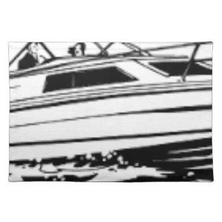 De Kruiser van de Boot van de snelheid Placemat