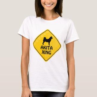 De Kruising van Akita [Xing] T Shirt
