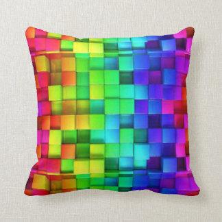 De Kubussen van de regenboog Sierkussen