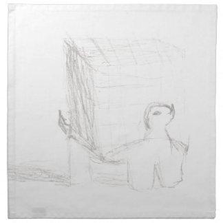 de kubustekening Eliana van de doosschildpad Servet